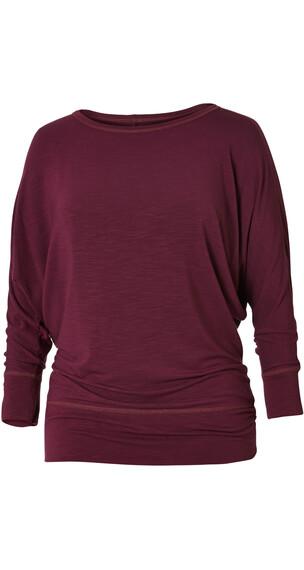 Royal Robbins Noe Dolman Shirt Women Plum Wine